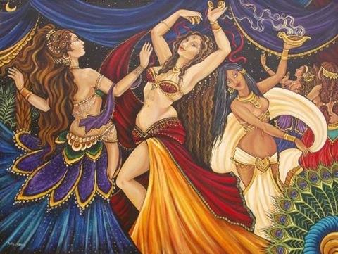 Danza oriental terapéutica.