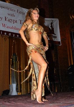 Samara en el Festival de El Cairo.