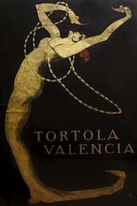 Tórtola Valencia, cartel orientalista.