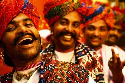 Dil Mastana, músicos de Rajasthan.