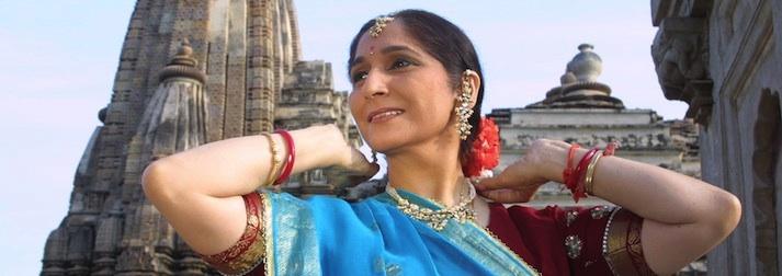 Uma Dogra, danza Kathak.