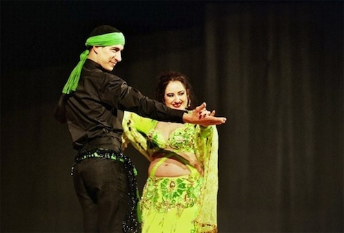 Bellydance Samyra y Zuel. Danza Oriental.