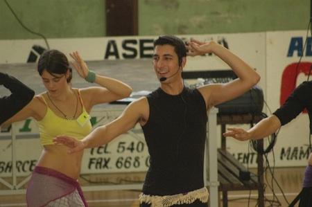 Clase de danza oriental con Zuel.