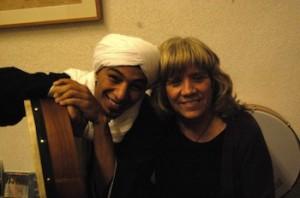 Rosa Martínez y Mohamed el Sayed.