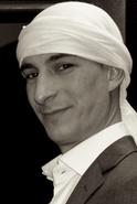 Zuel, director de Añil Danza Oriental.