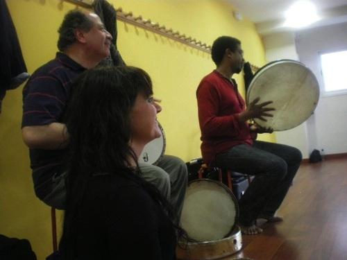 Danza oriental e improvisación.