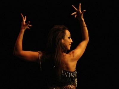 Mónica Tello, flamenco árabe.