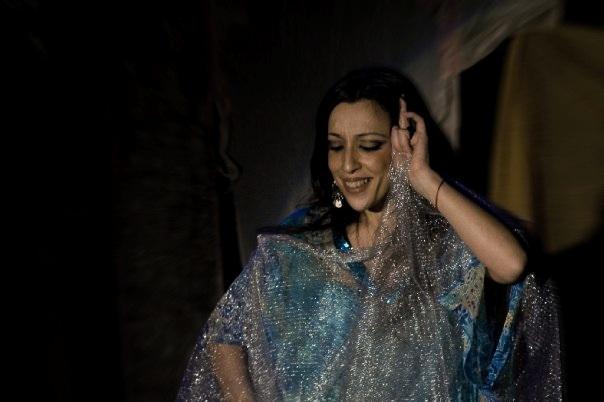 Flamenco árabe con Mónica Tello.