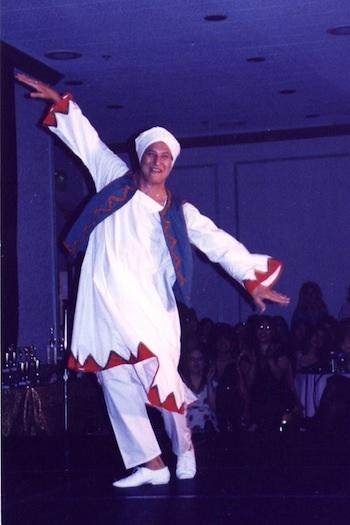 Mo Geddawi, danza nubia.