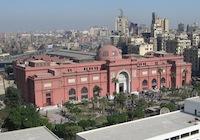 Museo Egipcio, en El Cairo.