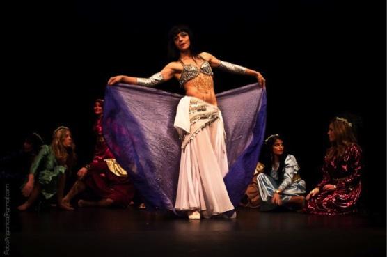 Marisol Díez, Nhua Kayali, danza del vientre.