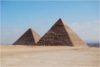 Pirámides de Gizeh, en El Cairo.