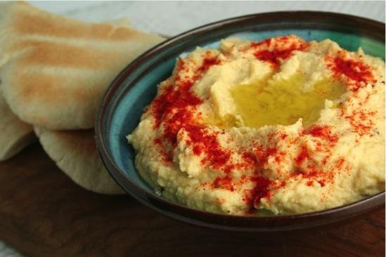 Receta de Hummus.