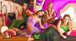 Shamaliats, danza del vientre en Zarautz