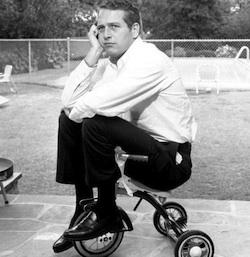 Paul Newman paternidad.