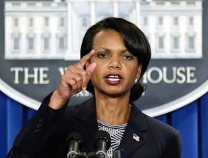 Condoleezza Rice, arquetipo femenino de Atenea.