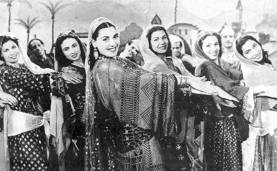 Tahia Carioca, bailarina egipcia.