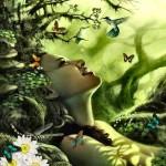 Arte y Femineidad. Los 5 reinos mutantes: Reino de la Madera