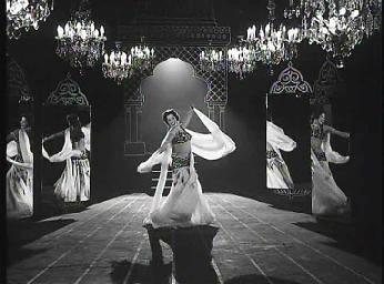 Samia Gamal, danza oriental y escenografía.