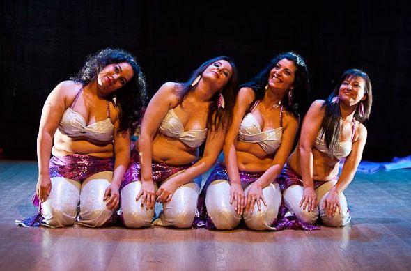 Cómo ser bailarina de danza oriental