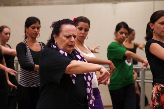 La China, bailaora de Flamenco