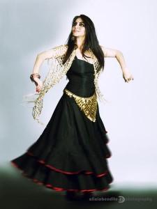 Larissa Vesci, flamenco
