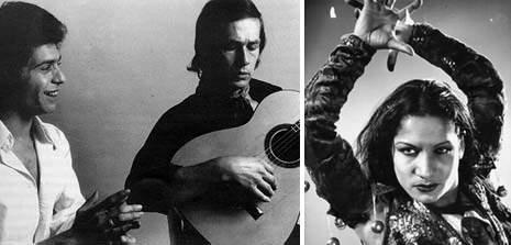 Camarón, Paco de Lucía y Carmen Amaya
