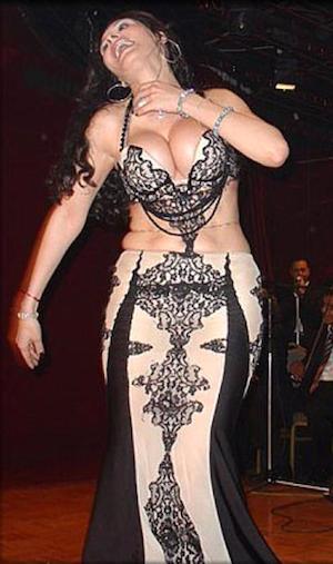 Dina, bailarina egipcia de danza oriental
