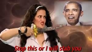 Sama al Masry amenaza a Barack Obama