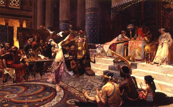 Baile de Salomé ante Herodes