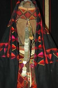 Traje tradicional femenino en Ammán (Jordania). Museo de las Tradiciones PopularesMuseo de las Tradiciones Populares
