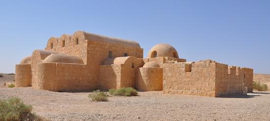 Palacio y baños de Qusayr Amra en Jordania. 711-715 (Imagen: David Gutiérrez)