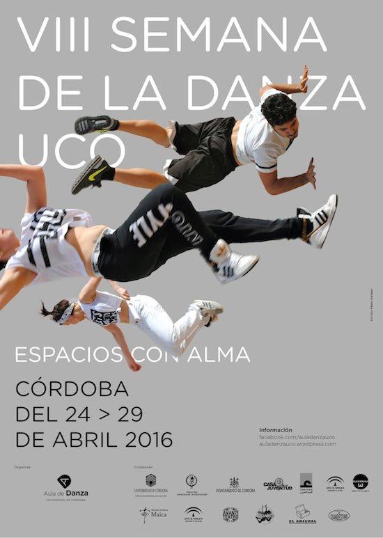Cartel Semana de la Danza Córdoba