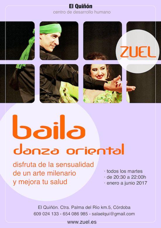 Clases de danza oriental en Córdoba con Zuel.