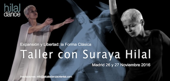 Suraya Hilal en Madrid