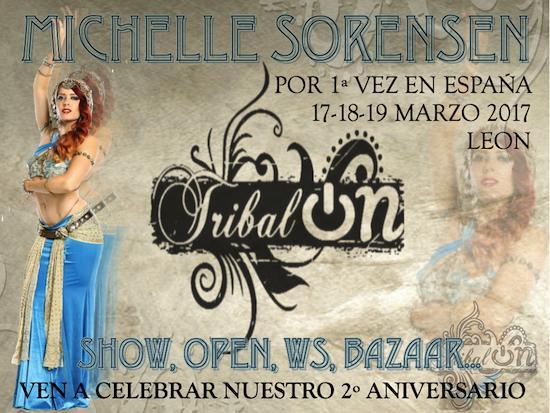 II Aniversario Tribalon. Michelle Sorensen.
