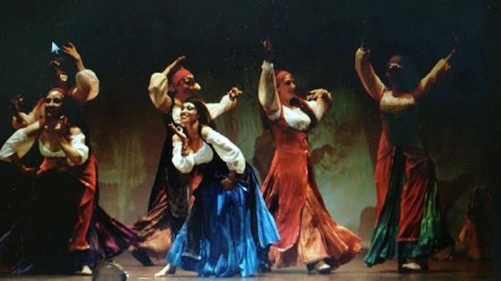 Compañia de danza zaar, Granada