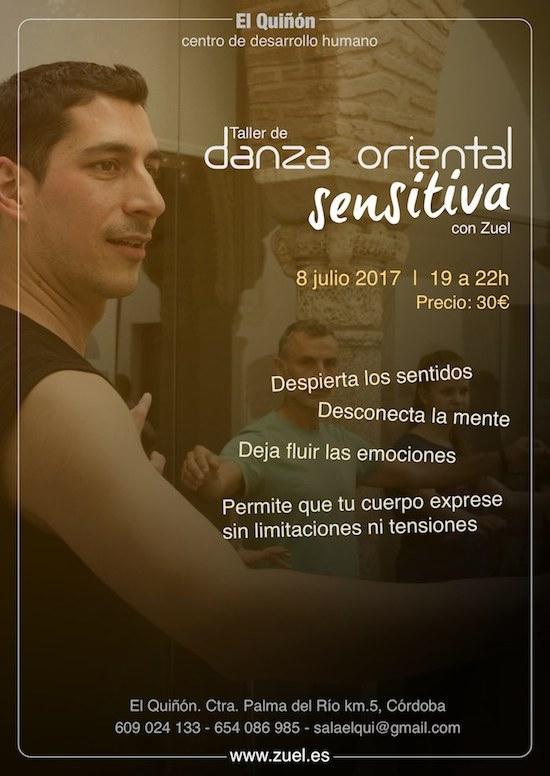 Danza oriental sensitiva con Zuel en El Quiñón