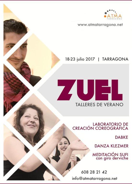 Talleres de verano con Zuel en Atma Tarragona
