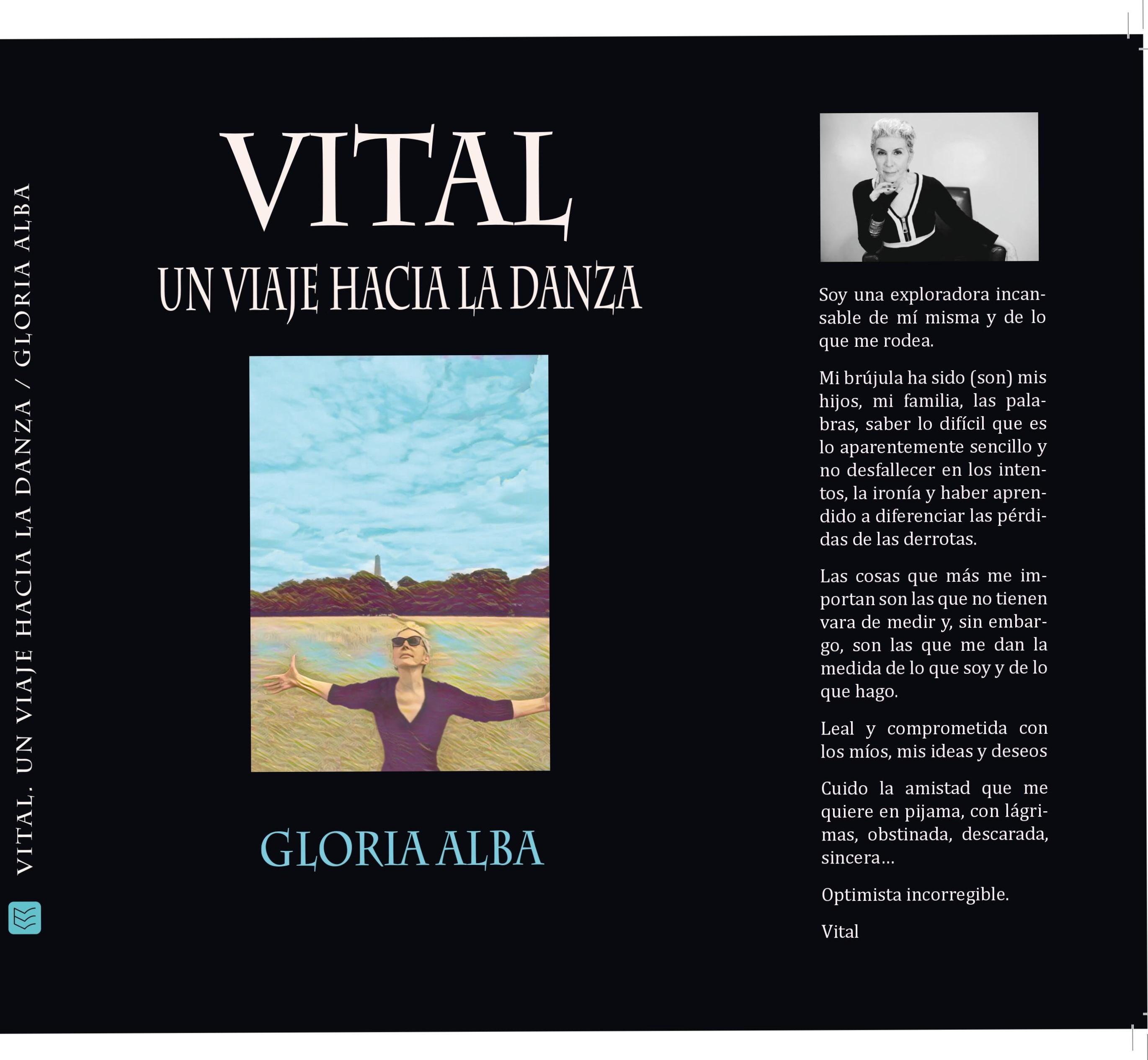 Vital, un viaje hacia la danza. El libro de Gloria Alba