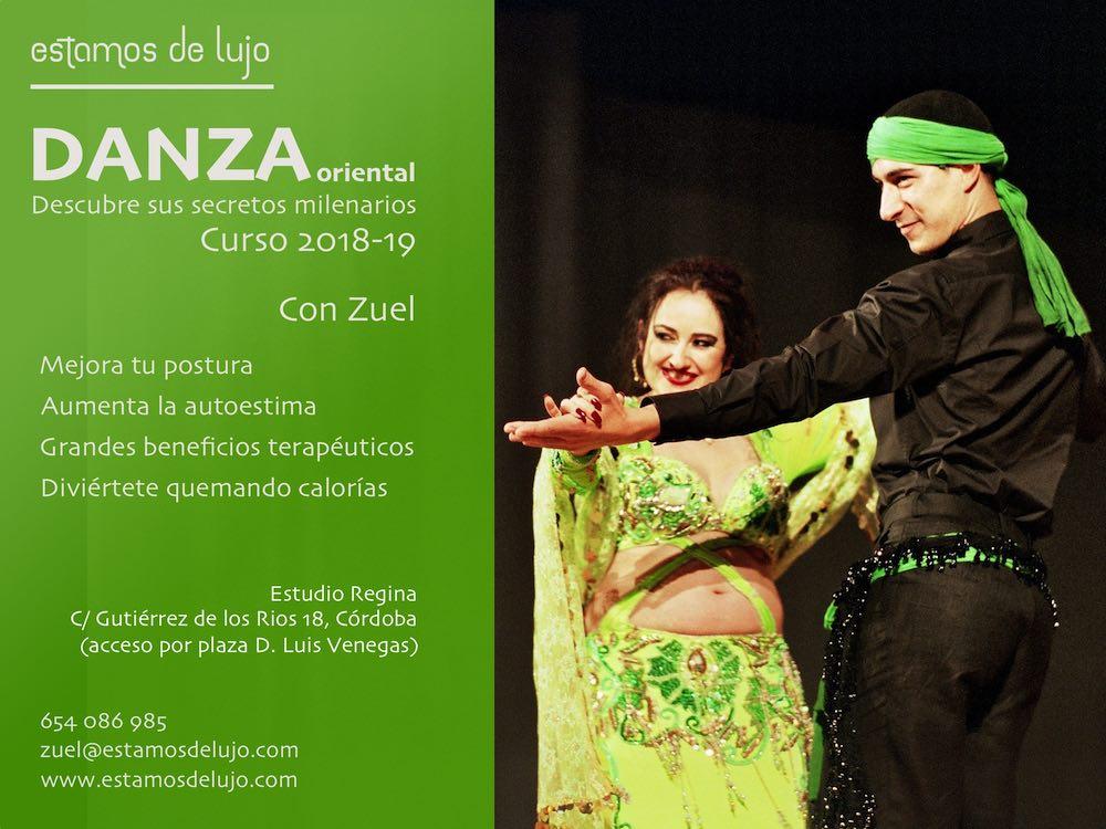 Clases de danza del vientre en Córdoba con Zuel.