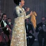 Om Kalthoum en concierto