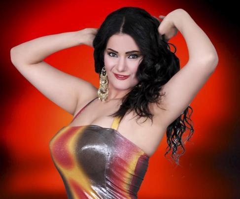 La bailarina egipcia condenada Sama al Masry