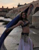 Bailarina de danza del vientre en Córdoba