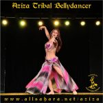 Aziza Tribal Bellydancer, Chile.