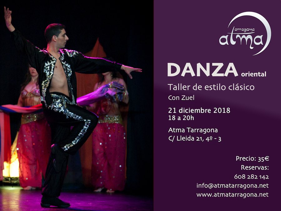 Curso de danza oriental clásica con Zuel