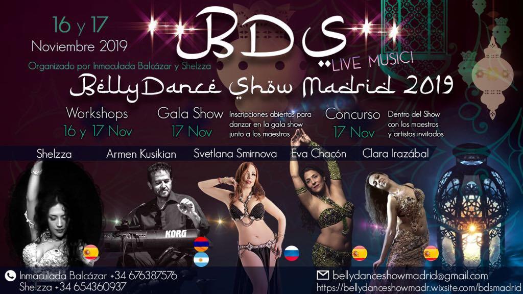 Festival BellyDanceShow Madrid 2019