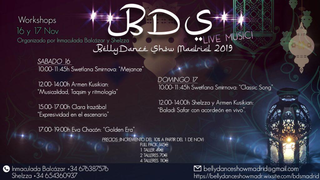BellyDanceShow Madrid 2019